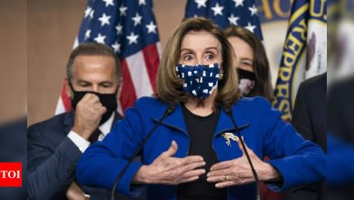 9/11-style commission to probe Capitol riot: Nancy Pelosi - Times of India
