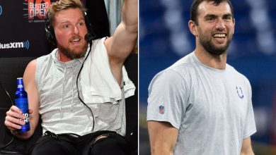 A random tweet sparked Andrew Luck comeback rumors — and Pat McAfee's scorn