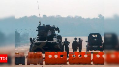 Actions of global community on Myanmar coup should focus on reconciliation: China on UNSC meet - Times of India