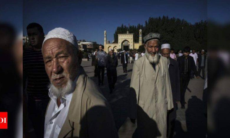 Activists, Uyghurs protest in Paris to ensure Pakistan is placed on FATF blacklist | India News - Times of India