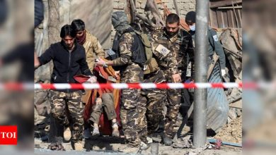 Afghan officials: Separate blasts in Kabul kill 3, wound 4 - Times of India