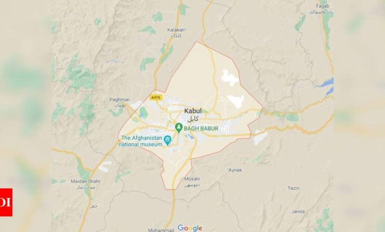Afghanistan: Car bomb explosion targets peace affairs ministry official in Kabul - Times of India