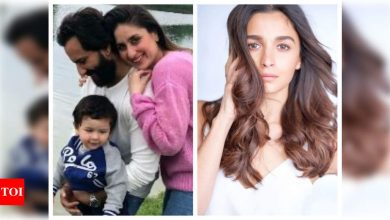 Alia Bhatt congratulates Kareena-Saif on baby's birth; tells Taimur 'can't wait to meet your baby brother' - Times of India