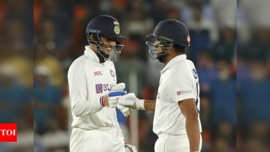 Another spin win for India: Hosts beat England by 10 wickets in two days to take 2-1 series lead | Cricket News - Times of India