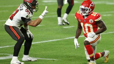 Antoine Winfield Jr. fined for mocking Tyreek Hill during Super Bowl 2021