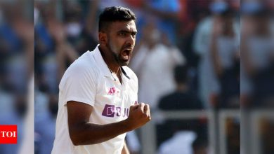 Ashwin becomes fourth highest wicket-taker for India with 599 international wickets | Cricket News - Times of India