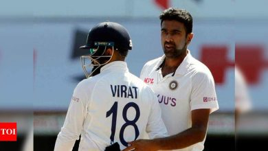 Ashwin first bowler to dismiss left-handers 200 times in Tests   Cricket News - Times of India