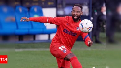 Atletico forward Dembele tests positive for COVID-19   Football News - Times of India