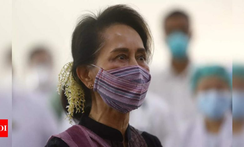 Aung San Suu Kyi detained by Myanmar army: Party spokesman | India News - Times of India