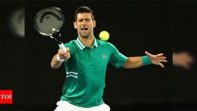 Australian Open: Djokovic survives injury scare to beat Fritz | Tennis News - Times of India