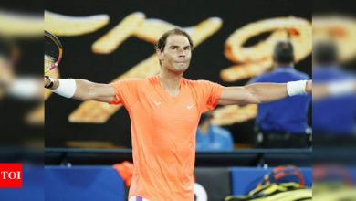 Australian Open: Dominant Nadal reaches third round with easy victory   Tennis News - Times of India