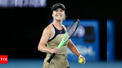 Australian Open: Svitolina sees off Coco challenge to reach third round   Tennis News - Times of India