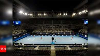 Australian Open tuneup matches on Thursday cancelled due to COVID-19 | Tennis News - Times of India