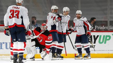 Awful start dooms Devils in loss to Capitals