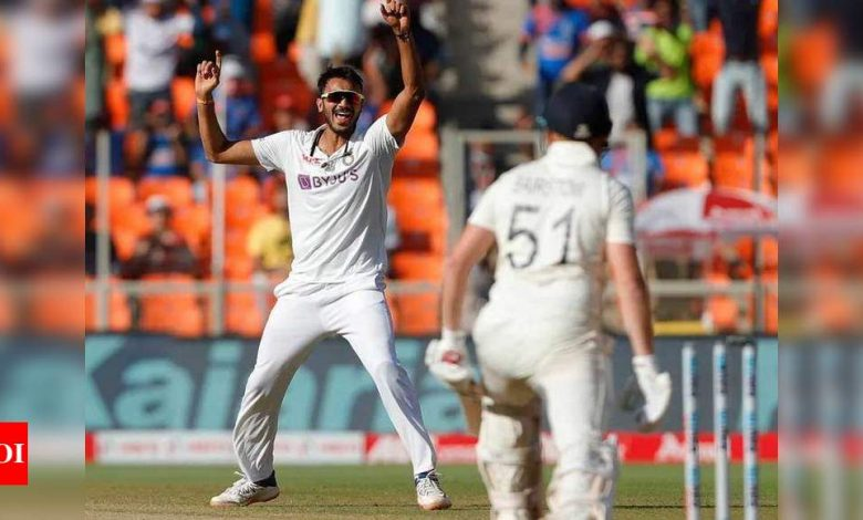 Axar Patel:  India vs England: Tracing India's 'Axar' factor   Cricket News - Times of India