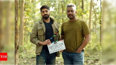 Ayushmann Khurrana reunites with Anubhav Sinha for 'Anek'; Reveals his first look - Times of India