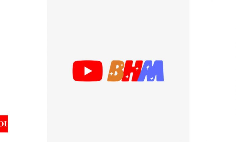 BHM:  YouTube to have a new logo every week this month - Times of India