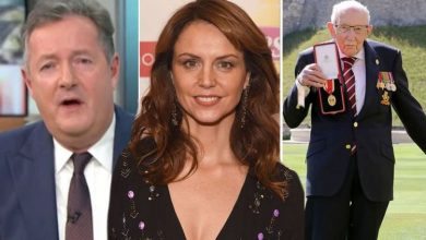 Beverley Turner slammed by Piers Morgan as she refuses to clap for Captain Sir Tom Moore