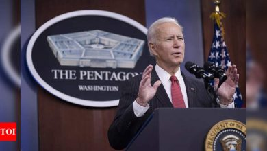 Biden announces new Pentagon task force on China - Times of India
