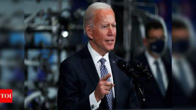 Biden believes US will be approaching normalcy by end of this year - Times of India