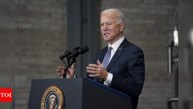 Biden declares 'America is back' in welcome words to allies - Times of India
