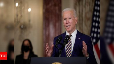 Biden, reflecting on Senate acquittal of Trump, says 'democracy is fragile' - Times of India