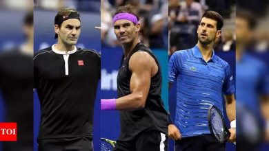 Big Three: The incredible domination of Federer, Nadal and Djokovic   Tennis News - Times of India