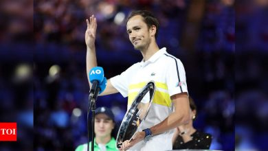 Big Three are 'cyborgs of tennis', says beaten Medvedev | Tennis News - Times of India