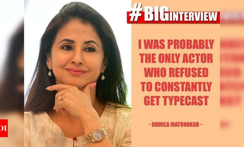 #BigInterview! Urmila Matondkar: Web shows, too, are still focussing only on girls between 18 to 25 or older women - Times of India