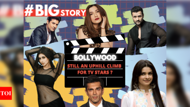 #BigStory! Is Bollywood an uphill climb for TV actors? - Times of India