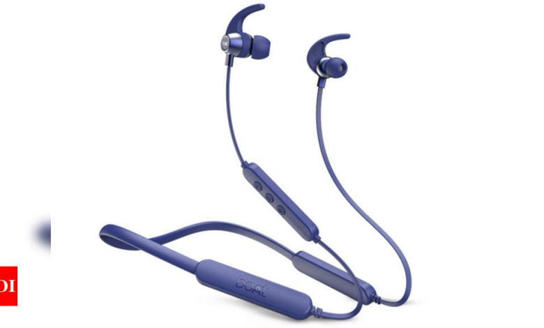 Boat Rockerz 255 Pro+ Bluetooth earphones launched at Rs 1,499 - Times of India