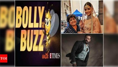 Bolly Buzz: Alia Bhatt's bridal look for a shoot goes viral, Salman Khan pens a thank you note for fans as he gets relief in Blackbuck poaching case - Times of India ►