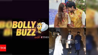 Bolly Buzz: Priyaank Sharma ties the knot with Shaza Morani, Shraddha Kapoor and Rohan Shreshta go public - Times of India ►