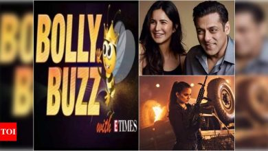 Bolly Buzz: Salman Khan and Katrina Kaif to shoot in Turkey for 'Tiger 3'; Kangana Ranaut shares new stills from 'Dhaakad' - Times of India ►