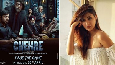 Makers Of Chehre Remove Rhea Chakraborty From The Poster