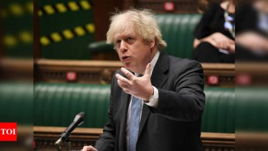 Boris Johnson: End of lockdown? UK's Johnson mulls path out after 15 million vaccinated | World News - Times of India