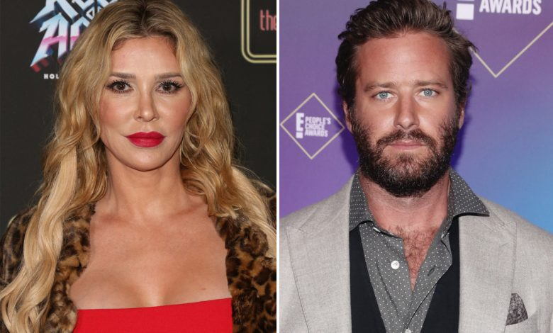 Brandi Glanville tells embattled Armie Hammer he can have her rib cage