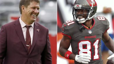 Buccaneers' GM Jason Licht 'couldn't be happier' with Antonio Brown