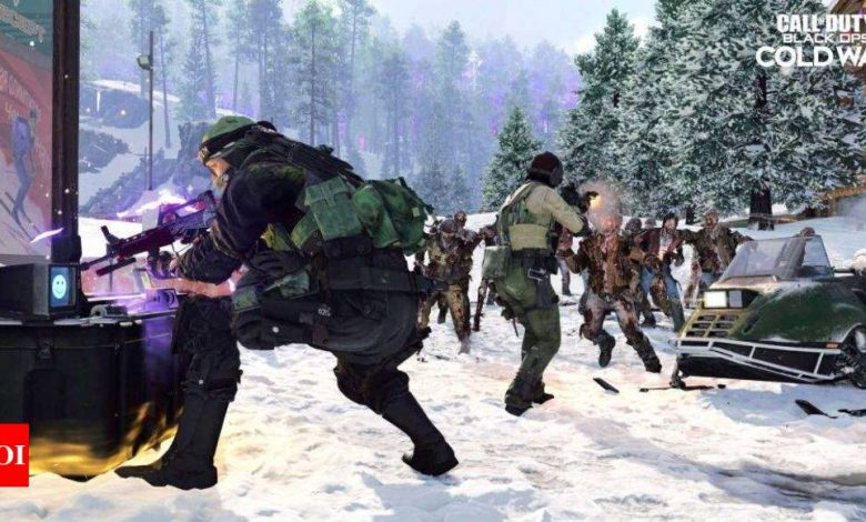 Call of Duty:  Call of Duty: Black Ops Cold War to get new zombies mode 'Outbreak' - Times of India