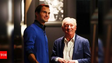 'Champion of his era' Roger Federer is still the best: Rod Laver   Tennis News - Times of India