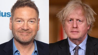 Check out the first photo of Kenneth Branagh as Boris Johnson