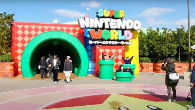 Check out these new videos from Super Nintendo World in Japan