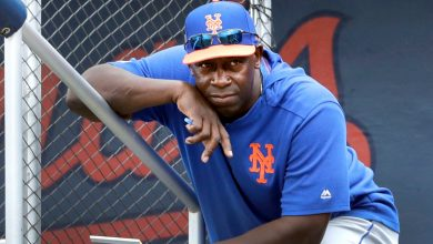 Chili Davis back with Mets in person after working remotely last season