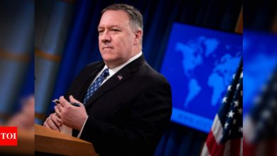 China blasts Mike Pompeo over accusation of genocide in Xinjiang - Times of India