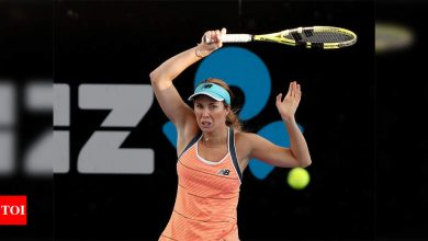 Collins stuns world number one Barty in Adelaide | Tennis News - Times of India