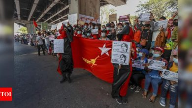 Countries curb diplomatic ties, weigh sanctions on Myanmar - Times of India