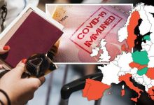 Covid vaccine passport MAPPED - 17 countries where you may need Covid jab to go on holiday