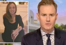 Dan Walker criticises BBC report for not mentioning Breakfast co-star Sally Nugent