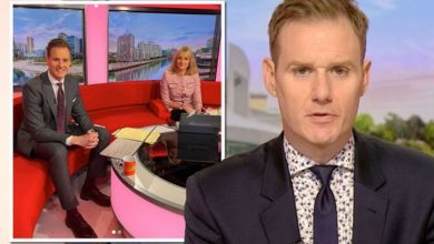 Dan Walker responds to confused BBC Breakfast viewer following absence from show