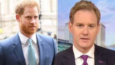 Dan Walker uses Prince Harry photo to highlight awkwardness after major text fail